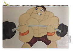 Muscular Man Carry-all Pouch