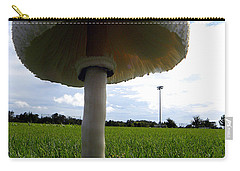 Mushroom 005 Carry-all Pouch by Chris Mercer