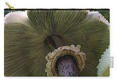 Mushroom Down Under  Carry-all Pouch by Bruce Bley