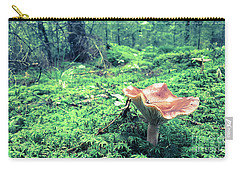 Mushroom In The Green Wood Carry-all Pouch