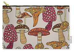 Mushroom Pattern Carry-all Pouch