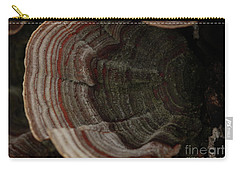 Carry-all Pouch featuring the photograph Mushroom Shells by Kim Henderson