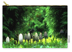 Mushrooms Under The Tree Carry-all Pouch