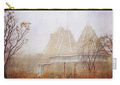 Music And Fog Carry-all Pouch by Heidi Hermes