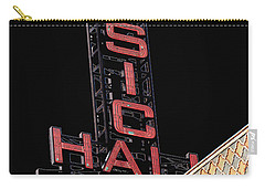 Music Hall Sign Carry-all Pouch