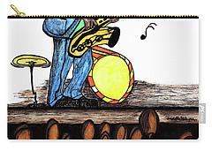 Music Man Cartoon Carry-all Pouch
