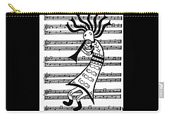 Music Man Kokopelli Carry-all Pouch