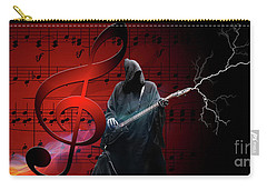 Music To Die For Carry-all Pouch