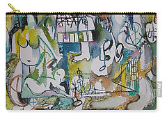 Musical Abstraction  Carry-all Pouch