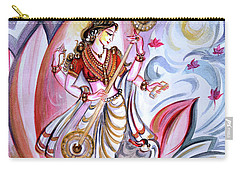 Musical Goddess Saraswati - Healing Art Carry-all Pouch