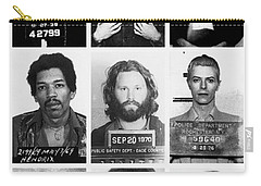 Musical Mug Shots Three Legends Very Large Original Photo 9 Carry-all Pouch