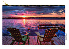 Muskoka Chair Sunset Carry-all Pouch