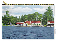 Carry-all Pouch featuring the painting Muskoka Lakes Golf And Country Club by Kenneth M Kirsch