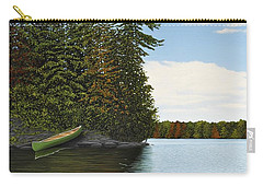 Muskoka Shores Carry-all Pouch by Kenneth M  Kirsch