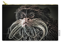 Mustache Monkey IIi Altered Carry-all Pouch