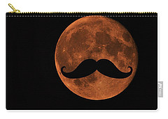 Mustache Moon Carry-all Pouch