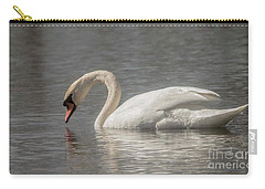 Mute Swan Carry-all Pouch by David Bearden
