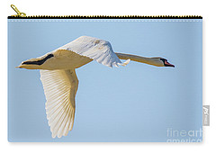 Mute Swan Carry-all Pouch by Jivko Nakev