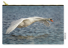 Mute Swan Carry-all Pouch by Roy McPeak