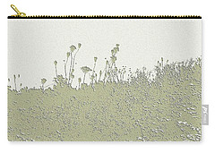 Muted Green Dandelions Carry-all Pouch