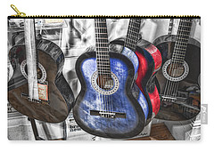 Muted Guitars Carry-all Pouch