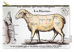 Mutton Carry-all Pouch by French School