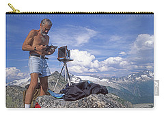 Carry-all Pouch featuring the photograph Mxx133 Ed Cooper On Hidden Lakes Peaks Wa by Ed Cooper Photography