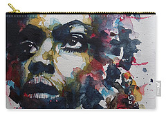 Carry-all Pouch featuring the painting My Baby Just Cares For Me  by Paul Lovering