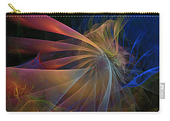 Carry-all Pouch featuring the digital art My Brothers Voice by NirvanaBlues