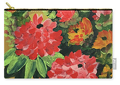 My Brush Sings In The Garden Carry-all Pouch