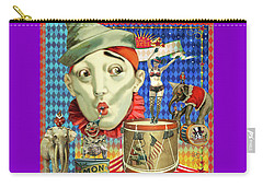 Carry-all Pouch featuring the photograph My Circus by Jeff Burgess