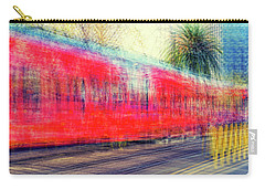 My City's Got A Trolley Carry-all Pouch by Joseph S Giacalone