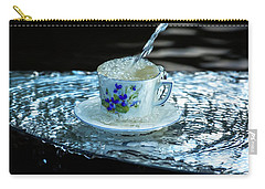 My Cup Overflow Carry-all Pouch by Rose-Marie Karlsen
