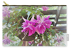 My Day In The Sun Carry-all Pouch by Ann Johndro-Collins