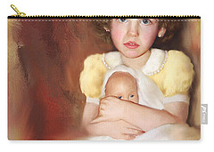 Carry-all Pouch featuring the photograph My Dolly by Bonnie Willis