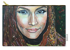 My Fair Lady II - Come Home - Geylang Si Paku Geylang Carry-all Pouch by Belinda Low