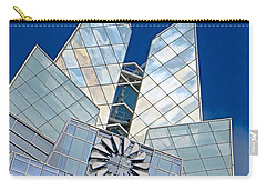 My Favorite #building In #myhometown Carry-all Pouch by Austin Tuxedo Cat