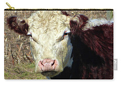 My Favorite Cow Carry-all Pouch by Tina M Wenger