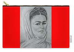 My Frida... Carry-all Pouch by Edgar Torres