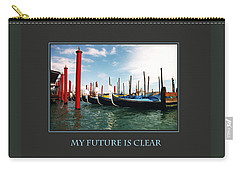 Carry-all Pouch featuring the photograph My Future Is Clear by Donna Corless