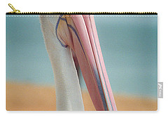 Carry-all Pouch featuring the photograph My Gentle And Majestic Pelican Friend by T Brian Jones