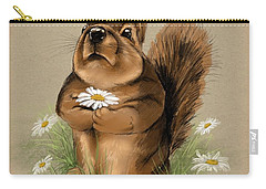 Carry-all Pouch featuring the painting My Gift For You by Veronica Minozzi