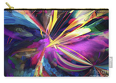 Carry-all Pouch featuring the digital art My Happy Place by Margie Chapman