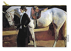 My Horse Is My Friend  Carry-all Pouch