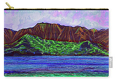 My Island Design  Carry-all Pouch by Debbie Chamberlin