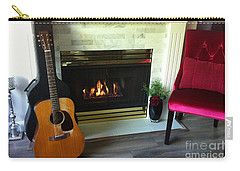 My Martin By The Fire Carry-all Pouch