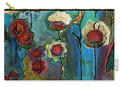 Carry-all Pouch featuring the painting My Mother's Garden by Susan Stone