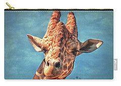 Carry-all Pouch featuring the photograph My Name Is Bingwa by Hanny Heim