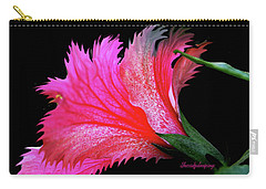 Palm Springs Flower My Name Is Wow Carry-all Pouch