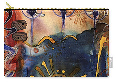 My Own Painted Desert - Completed Carry-all Pouch
